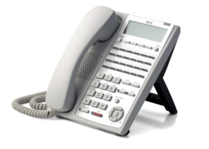 Phone System Digital 24-Button Telephone-White