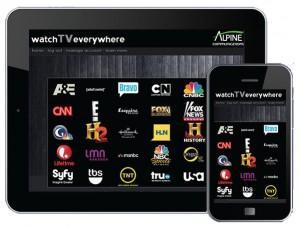 Alpine Watch TV Everywhere