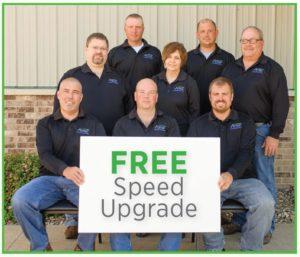 Free Speed Upgrade