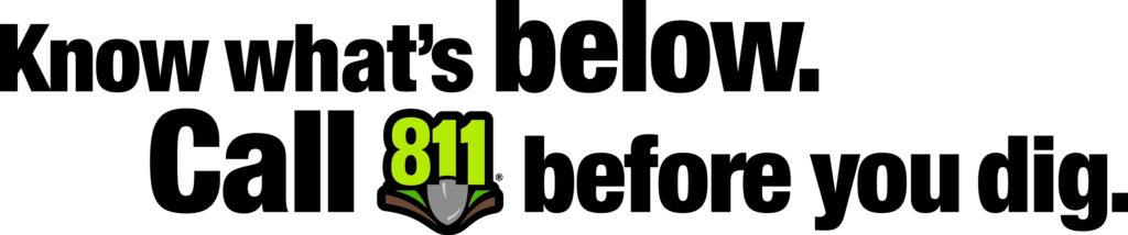 811 tagline logo color