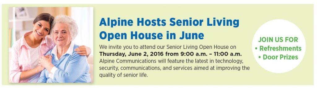 senior open house