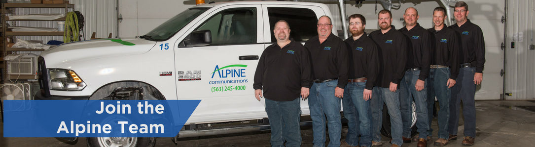 join the alpine team