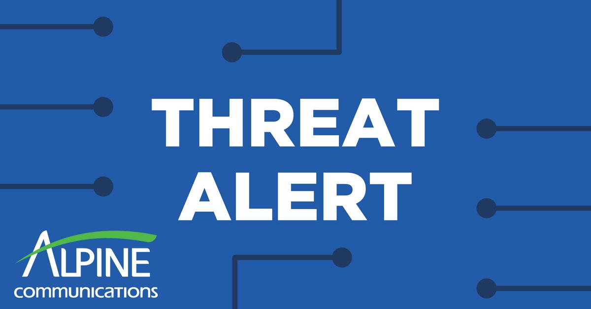 Threat Alert 6-28-17