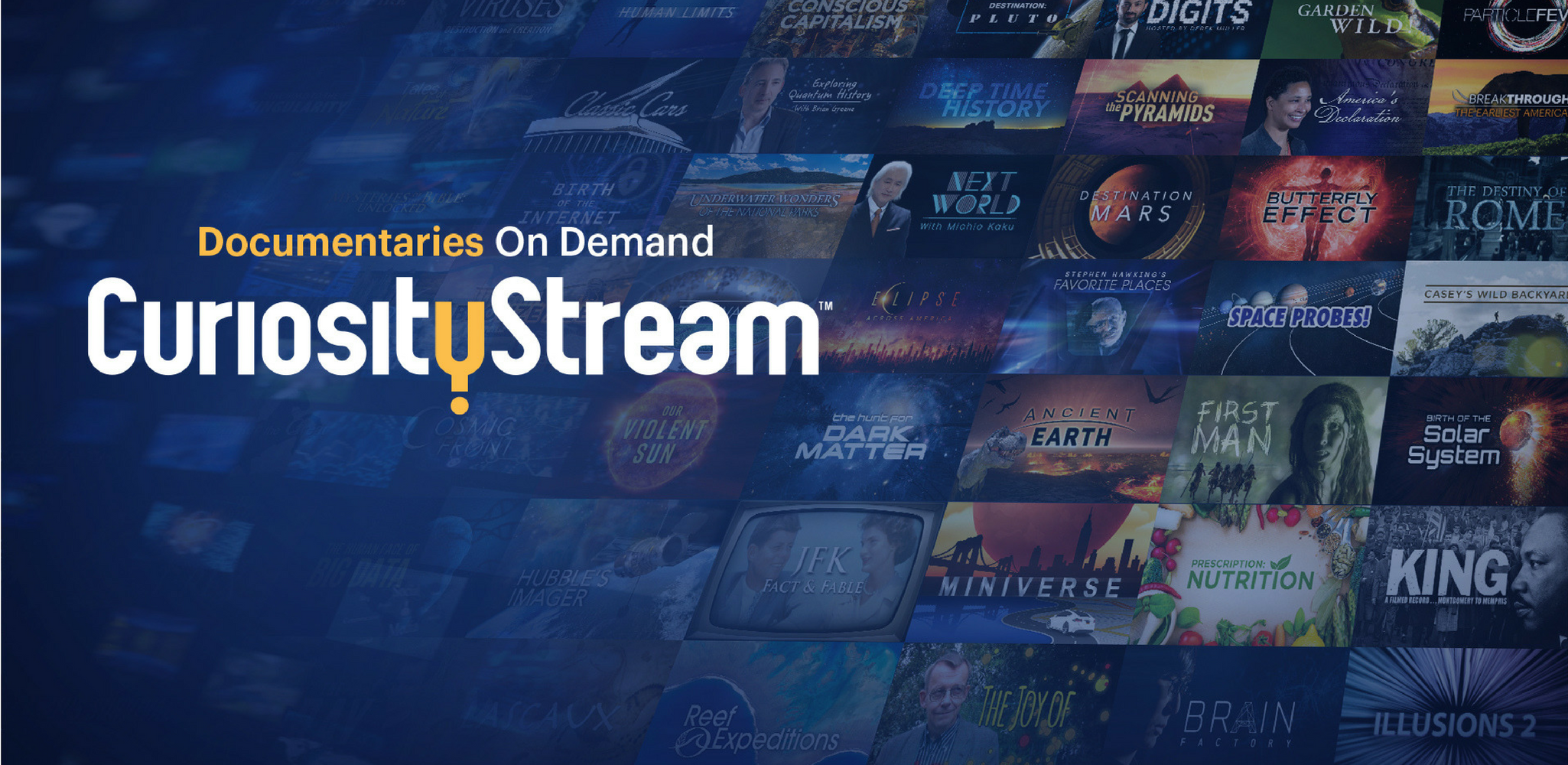 Introducing CuriosityStream