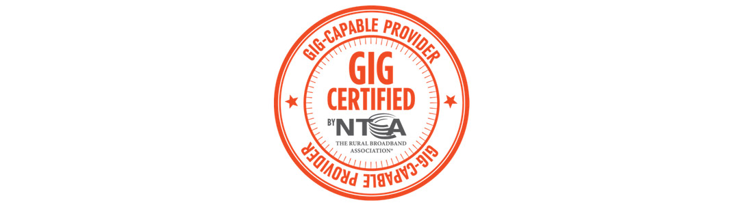 Gig Certified Internet by NTCA