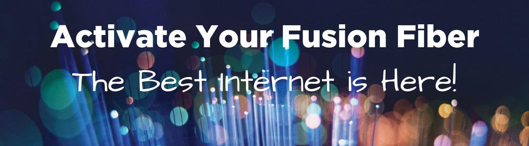 Fusion Fiber Optic Internet