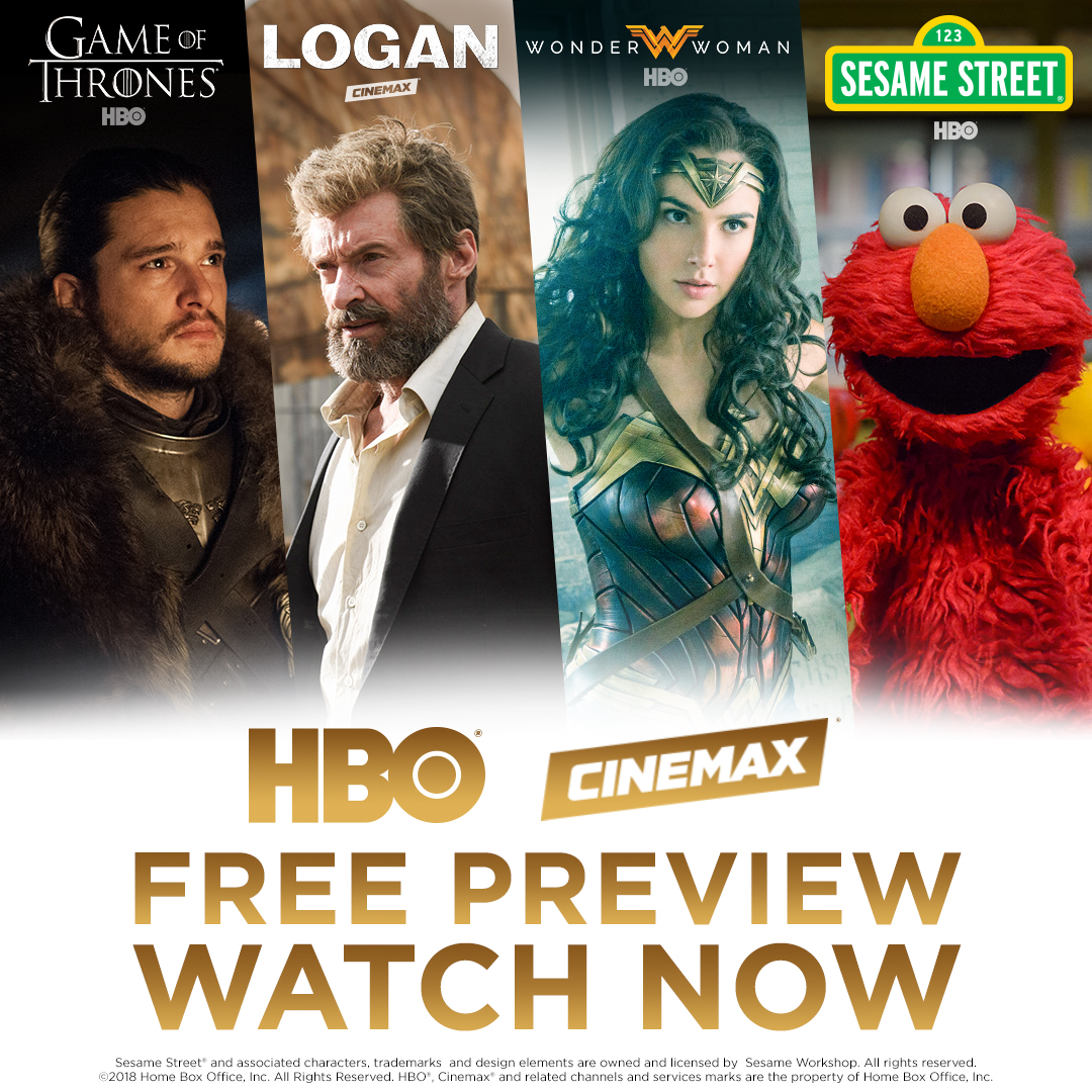 HBO Cinemax Free Preview Thanksgiving