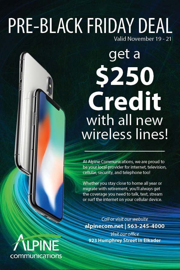 Pre Black Friday Deal On Wireless Phones Alpine Communications