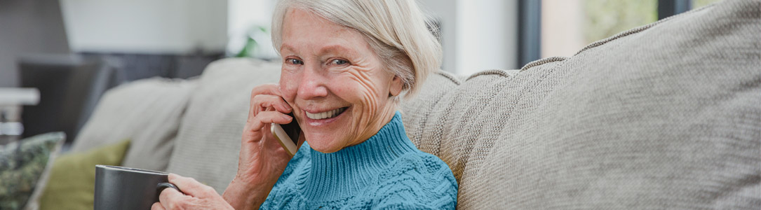 Woman smartphone