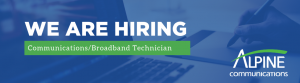We are Hiring Broadband Technician