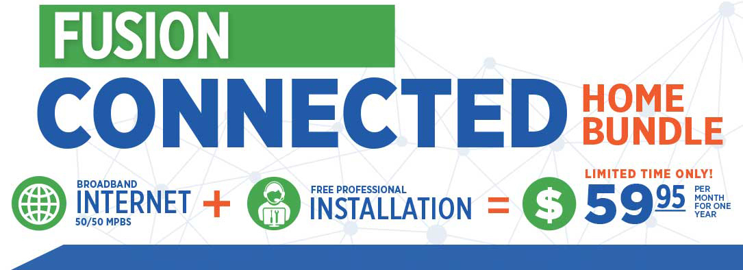 Alpine Connected Home Fiber-Optic Broadband Promotion